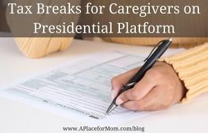 Tax Breaks for Caregivers on Presidential Platform