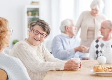 Seniors at Independent Living Community in Georgia