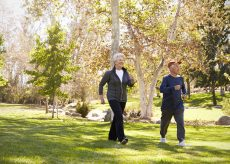 Seniors walking - Macon Park